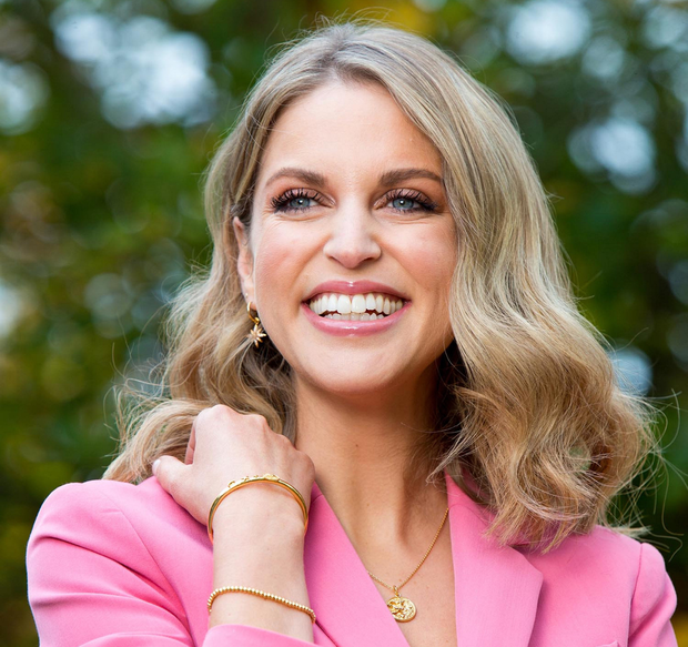 Amy Huberman wrote and stars in the comedy drama