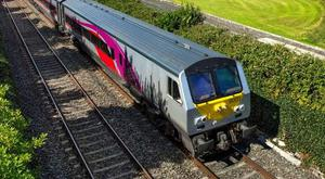 The Enterprise train links Dublin and Belfast every day