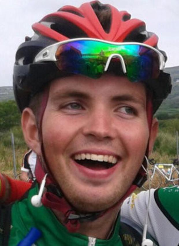 Cyclist Ryan McCarthy died as a result of crush injuries