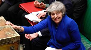Theresa May won the vote of confidence by a margin of just 19 votes