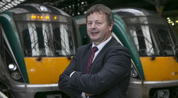 Irish Rail's Jim Meade said new carriages would arrive in 2021