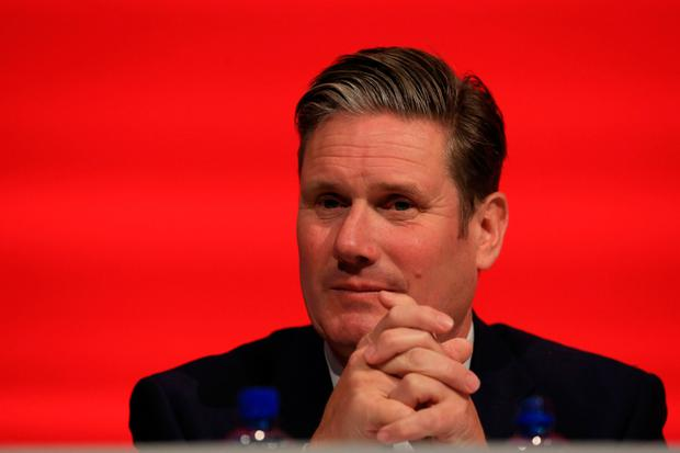 Keir Starmer suggested Labour understood need for a backstop