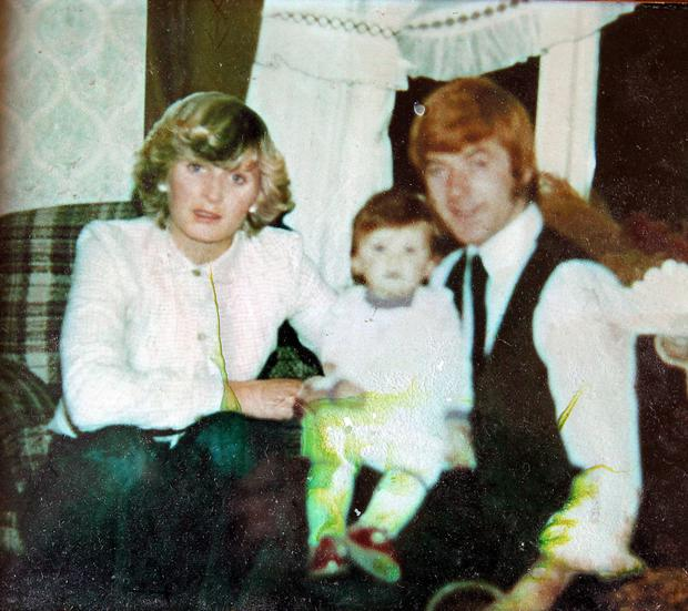 Maureen and Francis Lawlor, who died in the Stardust tragedy in 198, pictured with daughter Lisa Lawlor