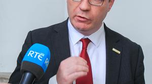 Labour Party TD Alan Kelly challenged civil servant's board role. Photo: Collins Photo Agency