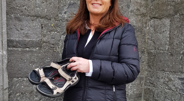 Rosie Gannon won her case for a refund from Ecco after proving in court the sandals were unfit for purpose