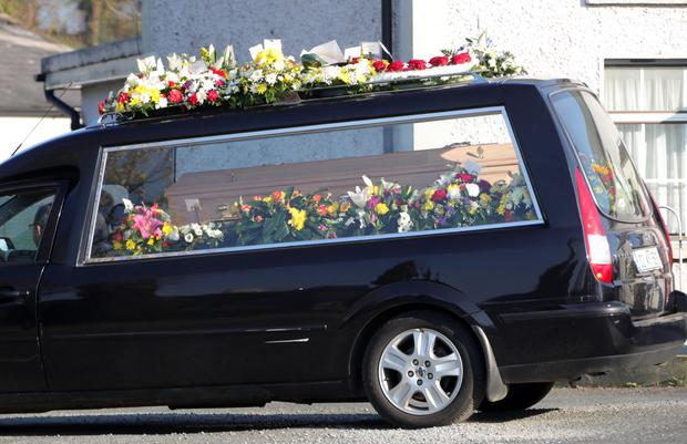 jailed puppy farmer dad attends funeral of son  16  killed
