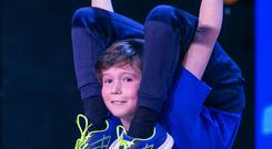 Oisin McMullin will flex his muscles – and his limbs – to impress the talent show judges