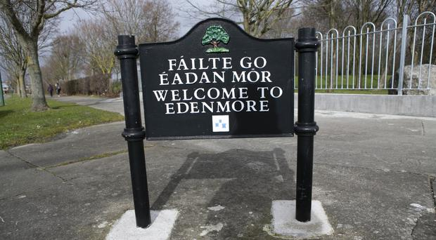 Gardai have increased patrols on the Edenmore Estate
