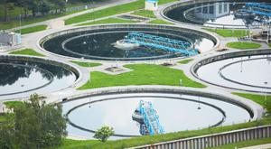 The new treatment plant will use ultraviolet light on waste