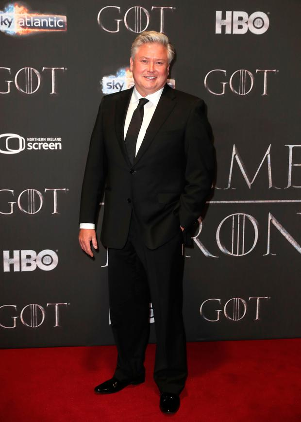 Conleth Hill attending the Game of Thrones Premiere. Photo: PA