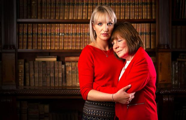 Mary Coll and sister Jacqueline Connolly are campaigning in the wake of the murder of Clodagh