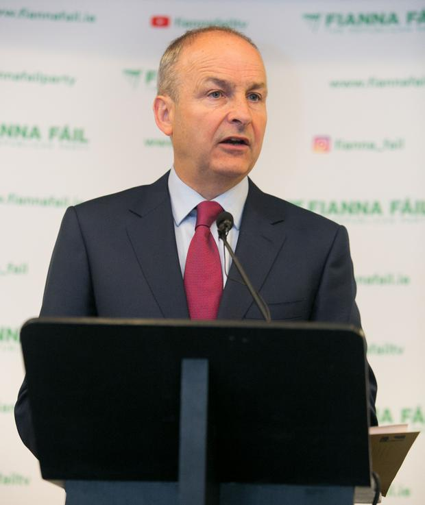 Micheal Martin criticised FG