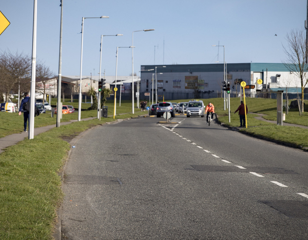 Priorswood Road, where gardai seized the firearms last year