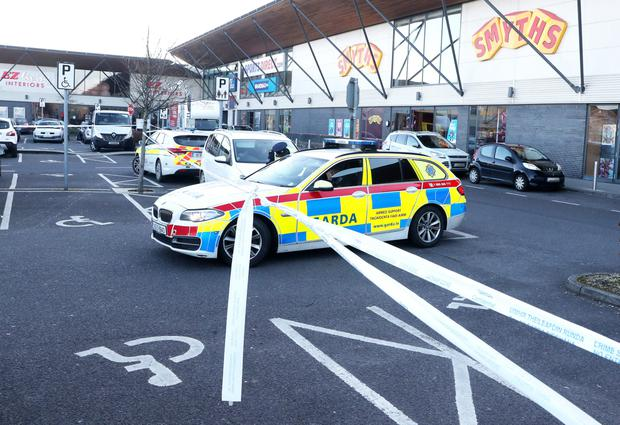 Scene of a recent Drogheda feud shooting at M1 Retail Park