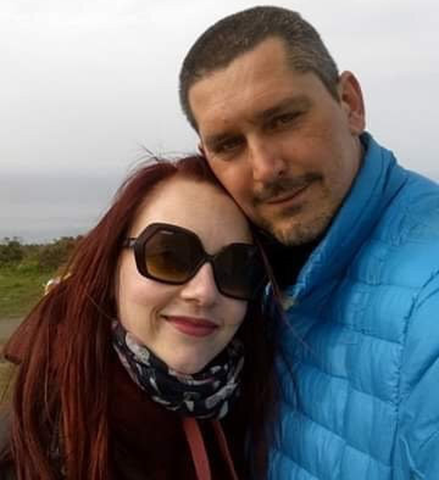 Dominika Skora and her tragic husband Rafal who died in a paragliding accident
