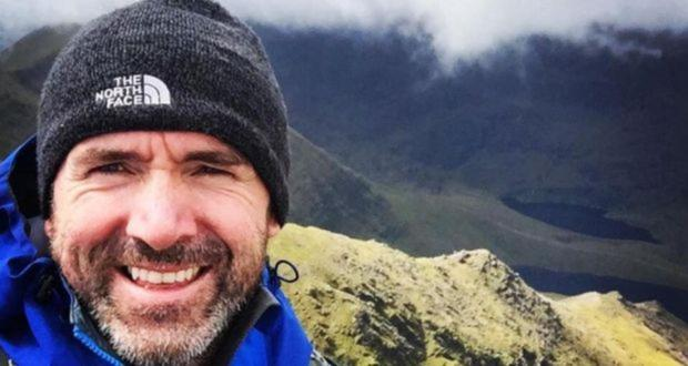 Searchers are looking for father-of-one Seamus Lawless who slipped as he was descending Mount Everest