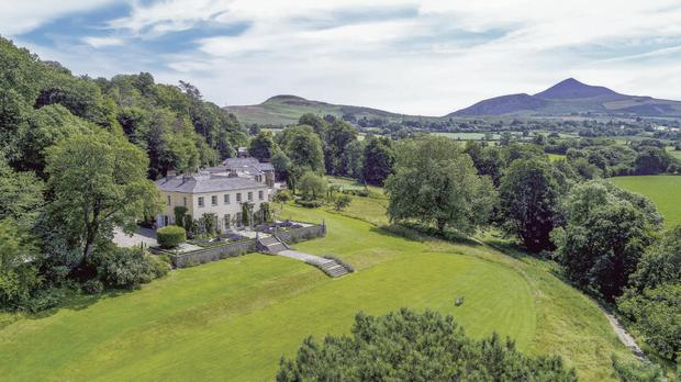The luxurious house being sold by Chris de Burgh and his wife Diane
