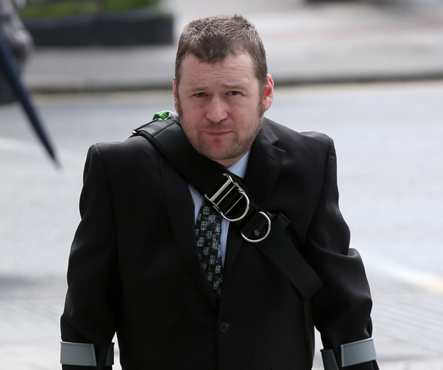 Ronan Stephens (pictured) and Brian Stacey deny the charges