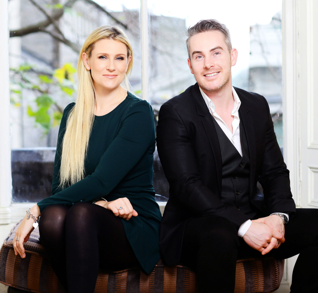Rena Maycock and Feargal Harrington, owners of Intro Matchmaking