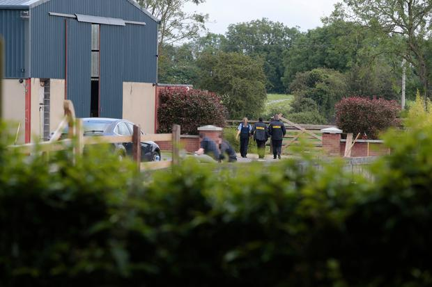 In a separate raid earlier this week, armed gardai searched a Garristown property linked to cartel member Ross Browning
