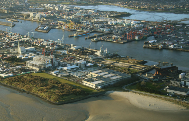 Ringsend wastewater plant