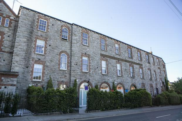 The former Bird's Nest children's home on York Road in Dun Laoghaire has been turned into luxury flats. Photo: Kyran O'Brien