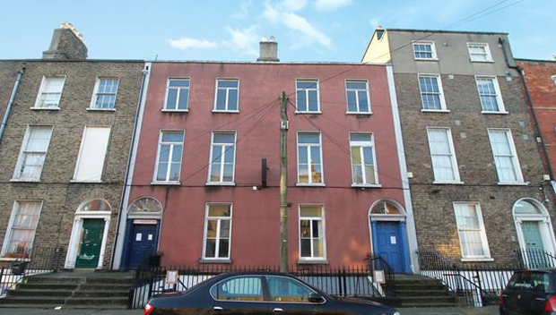 The building is on Blessington Street in the north inner city