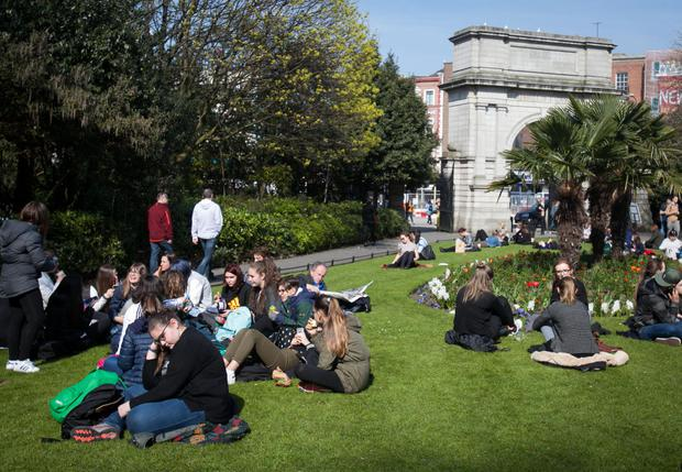 Flagship parks such as St Stephen's Green will have a new management plan