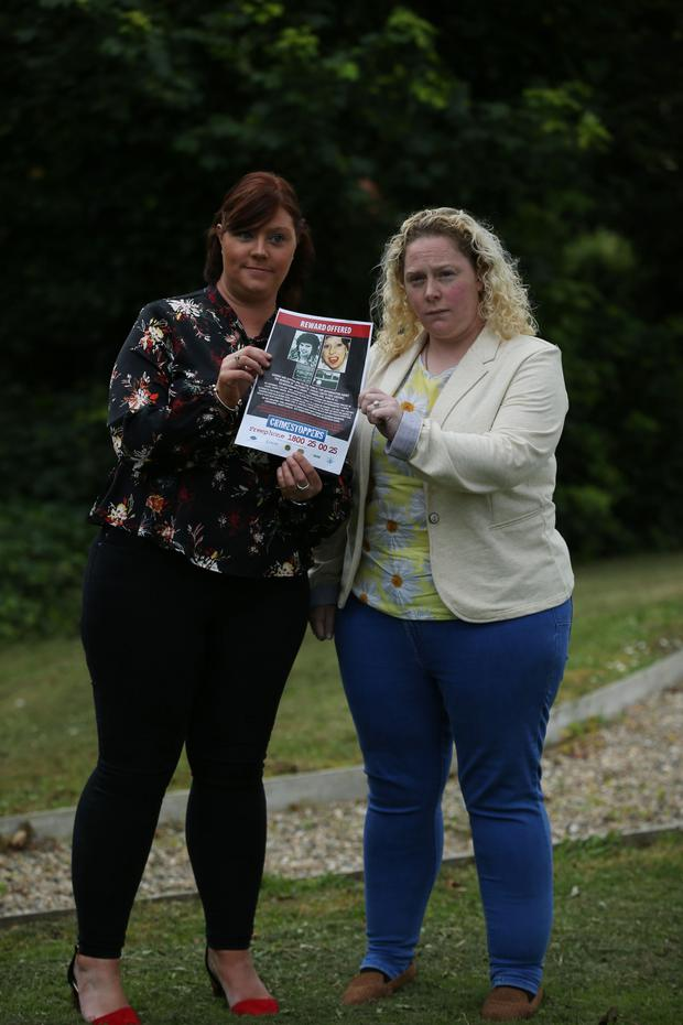 Lisa and Rachel Smith have issued a plea for information about their mother Antoinette's murder 32 years ago