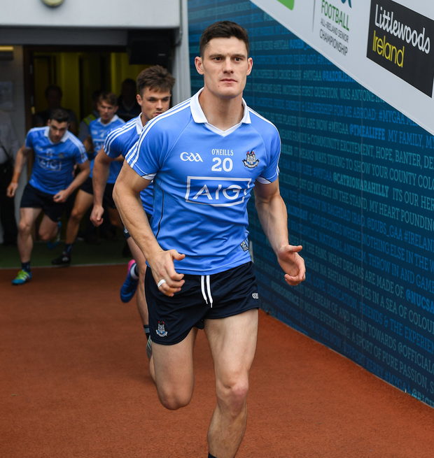 'Absolute genius' Diarmuid Connolly is back training with the Dublin county squad