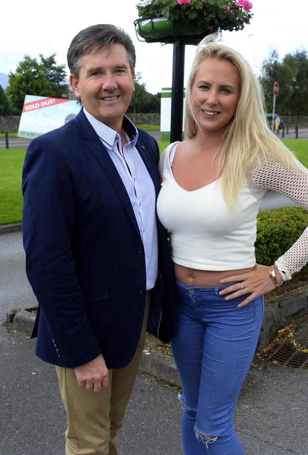 Molly Sloyan met singer Daniel O'Donnell after her reaction to a Late Late Show impersonator went viral. Photo: macmonagle.com