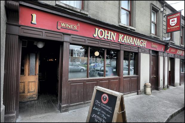 Kavanaghs Pub AKA 'The Gravediggers' in Glasnevin
