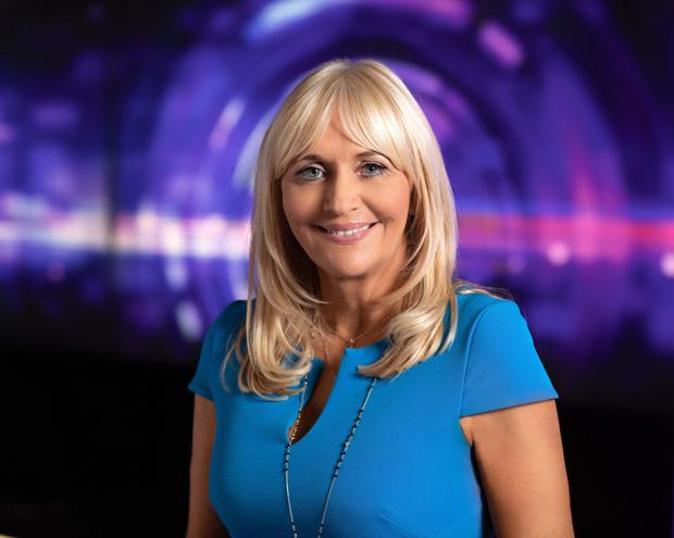Presenter Miriam O'Callaghan