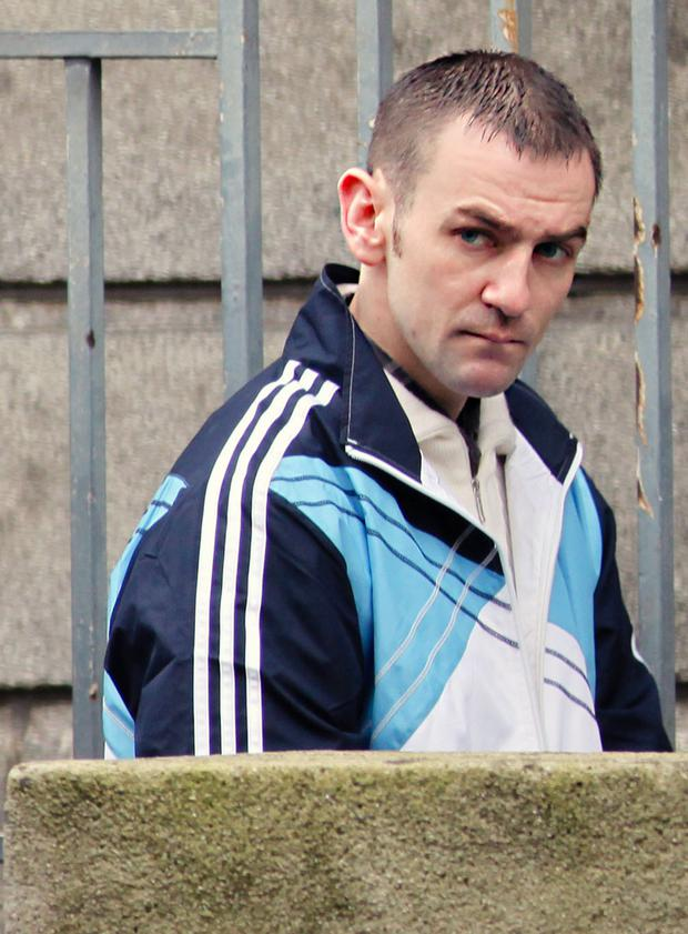 Jeffrey Morrow (pictured) and Paul O'Beirne were jailed for their roles in Vinnie Ryan's murder
