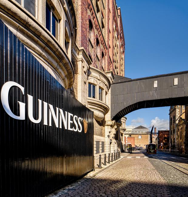 The Guinness Storehouse topped the poll