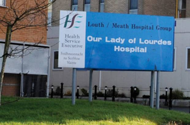 The man was taken to Our Lady of Lourdes Hospital