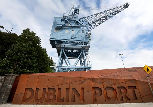 A man died in the incident at the north docks in Dublin Port