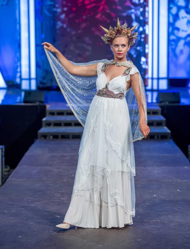 At the Rose of Tralee Fashion show were models Aine Dwan (pictured), Maria Naumava, Maria Duffy, Ellie Ryan and Niamh O'Leary