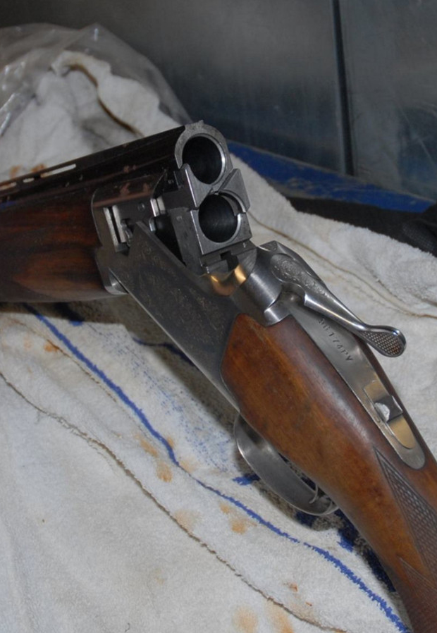 A shotgun similar to the one found by gardai