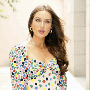 Former model Roz Purcell is happy with her body. Photo: Kieran Harnett