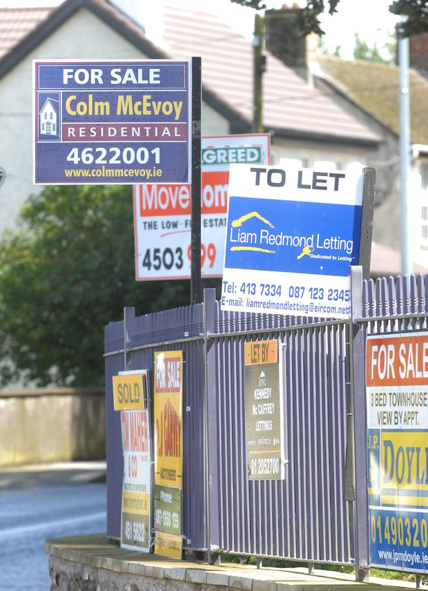 Residential property prices nationwide rose by 2.3pc