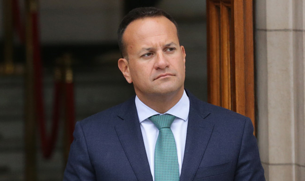 Leo Varadkar insisted Fine Gael will win the general election. Photo: Damien Eagers/INM