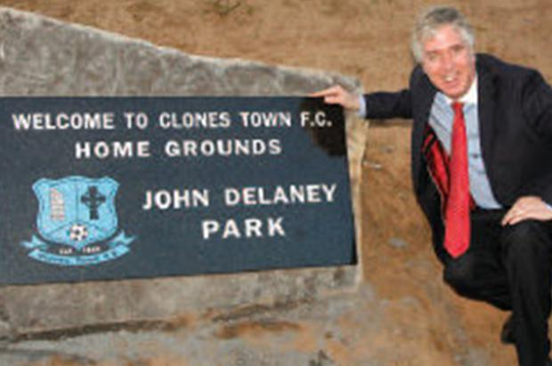 Mr Delaney 'did not request the park be named after him'