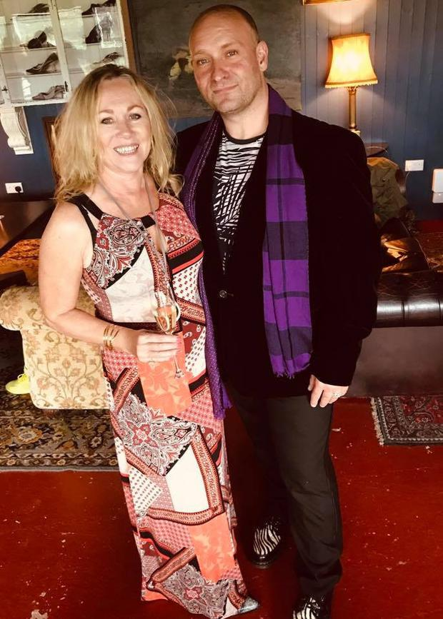 Chameleon's owners Kevin O'Toole and Carol Walsh.