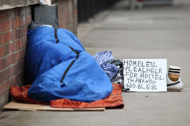 More than 10,000 people are homeless and more than 100 children a month are added to emergency accommodation lists