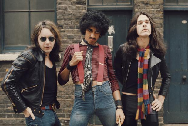 Brian Downey, Phil Lynott and Gary Moore – Thin Lizzy