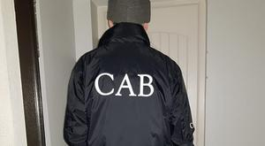 The CAB looks for evidence of wealth such as 'man caves'