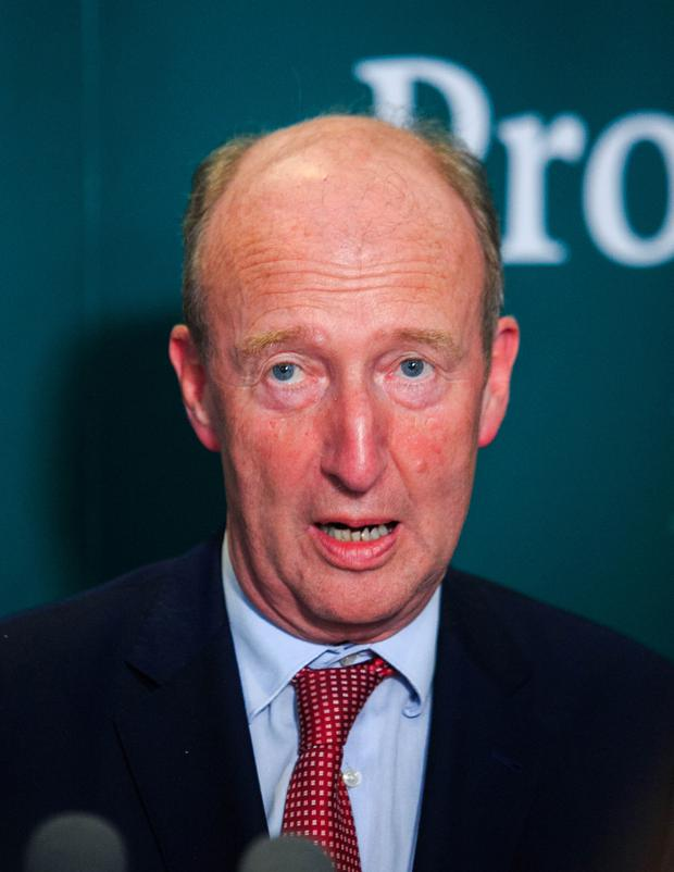 Transport Minister Shane Ross. Photo: Collins Dublin, Gareth Chaney