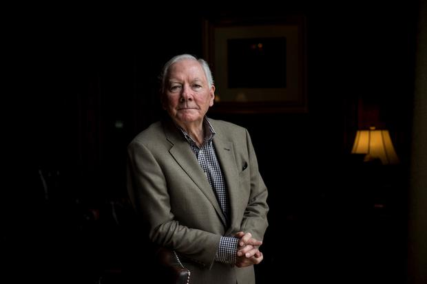 Gay Byrne, pictured here in 2016, passed away surrounded by his family in Howth yesterday morning