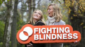 Victoria Smurfit, Fighting Blindness ambassador, and her daughter Evie Baxter. Photo: Shane O'Neill/SON Photographic